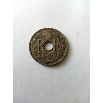 25 centymów Francja 1934