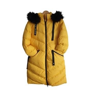 Długa kurtka zimowa puffer r. M/12UK Saint+Sinner