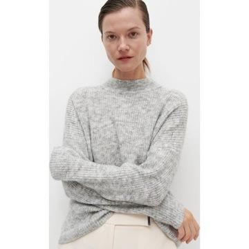 Szary sweter półgolf RESERVED nowy bez metki