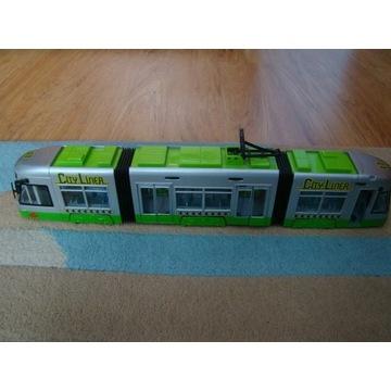 Tramwaj Dickie Toys City Liner - 46cm