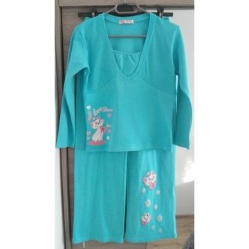 Piżamka bawełniana dziewczęca roz 152-158.