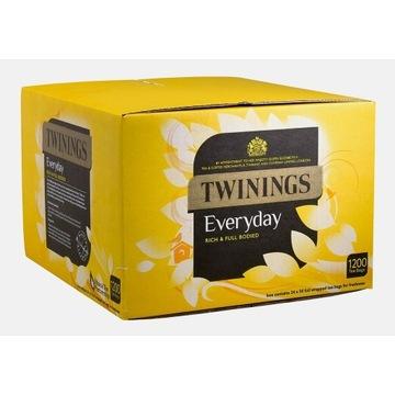 Twinings Everyday - Herbata Czarna 1200 szt UK