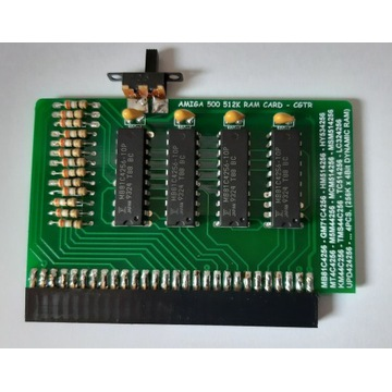 Nowe rozszerzenie RAM 512K do Amiga 500