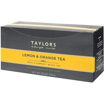 Taylors Cytryna Pomarańcza Herbata 100 kopertek