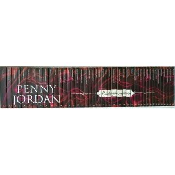 Penny Jordan komplet 60 ksiażek MISTRZYNI ROMANSÓW