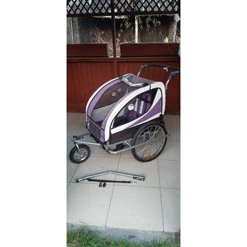 Przyczepka rowerowa dziecięca