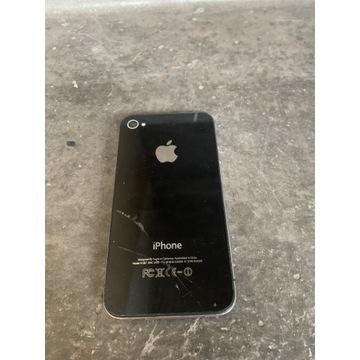 Uszkodzony IPhone 4s + pudełko org