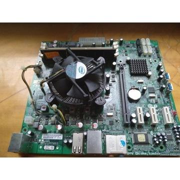 Płyta główna H67H2-EM + procesor + ram 4gb ddr3