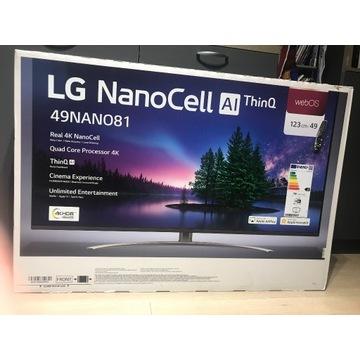 """Telewizor LG 49NAN081 49 """" 4K UHD czarny"""
