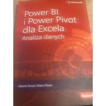 Książka Power BI i Power Pivot dla Excela Analiza