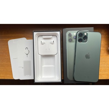 iPhone 11 Pro 256GB Midnight Green/Nocna Zieleń/GW
