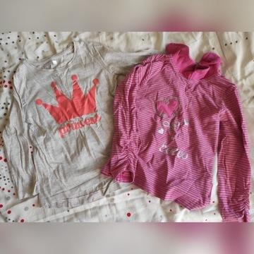 Bluzki spódniczki spodenki 104