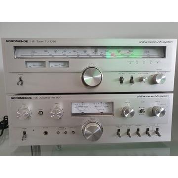 Zestaw HiFi Vintage NORDMENDE PA 1100, TU 1050