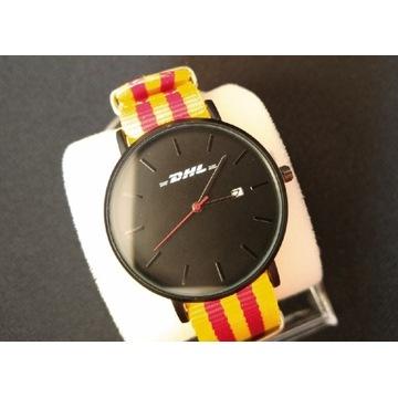 Zegarek z logo DHL