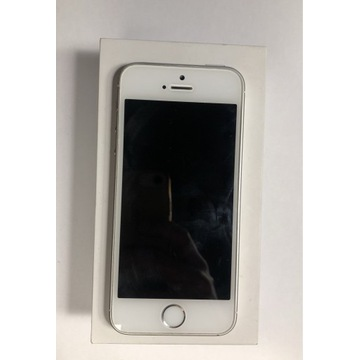 iPhone SE 64GB Srebrny Bat. 100%