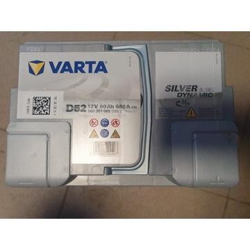 Akumulator samochodowy VARTA 12V 60Ah 680A AGM