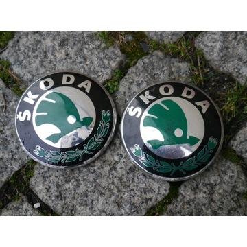 Znaczek Logo Skoda Superb 2