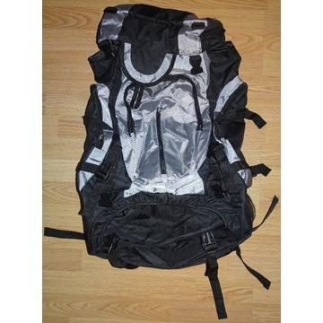 Plecak turystyczny VidaXL XXL 75l czarno-szary