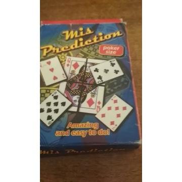 Mis Prediction Duża dama z 4 kart.