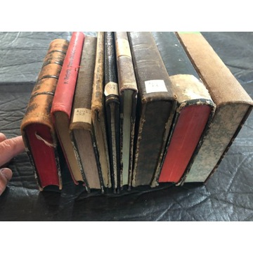 Stare książki po niemiecku XIX wiek