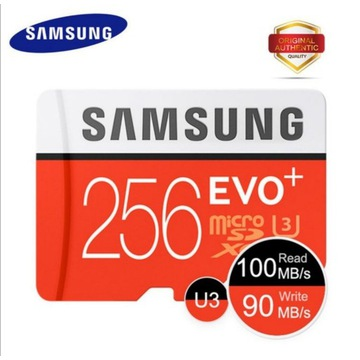 Karta pamięci micro SD Samsung EVO 256GB + GRATIS