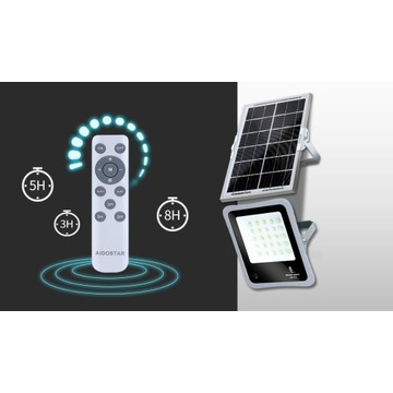 Naświetlacz halogen led solar 30W 50W