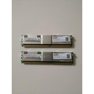 HYNIX 2 x 4 GB 2Rx4 PC2-5300F-555-11 Pamięć RAM