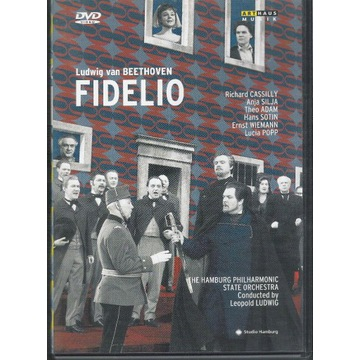 BEETHOVEN Fidelio SILJA, ADAM, POPP, CASSILY DVD