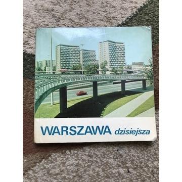 Przewodnik z 1974 roku WARSZAWA DZISIEJSZA
