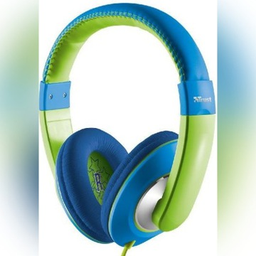 Słuchawki trust sonin dzieci kids ograniczenie gło