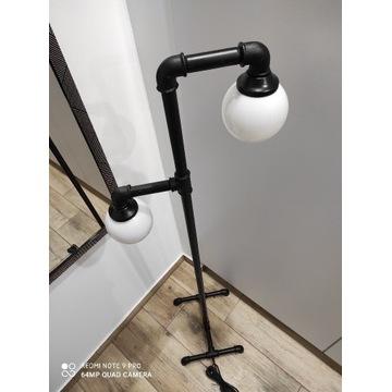 DIY Lampa stojąca Loft