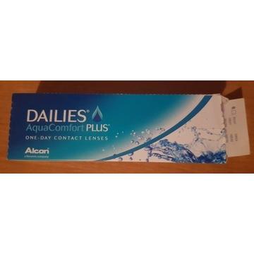 Soczewki kontaktowe DAILIES AquaComfort PLUS 12szt
