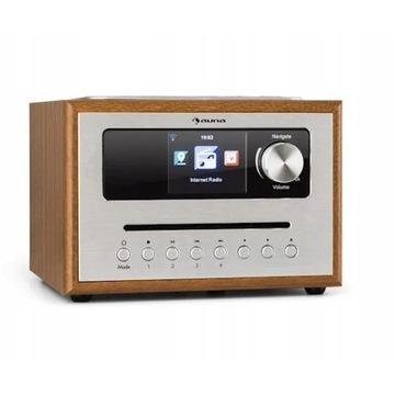 Auna Silver Star CD Cube mikrowieża radio 10033003