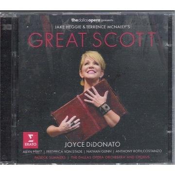 HEGGIE Great Scott DiDONATO, VON STADE, GUNN 2CD