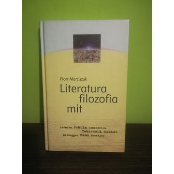 Literatura filozofia mit P. Marciszuk