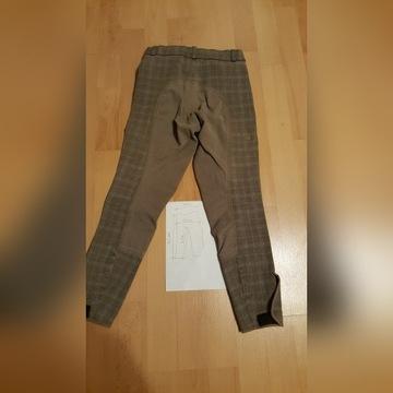 Bryczesy spodnie do jazdy konnej - arkade r. 140