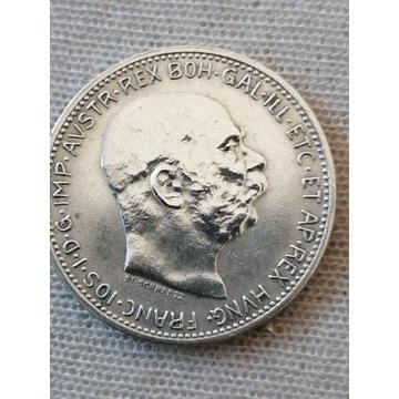 1 korona 1913 Srebro
