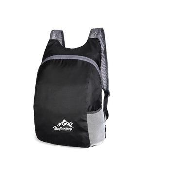 Lekki plecak 15L - czarny