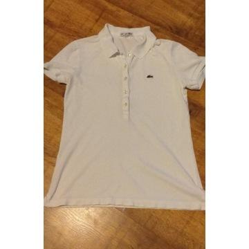 Koszulka polo Lacoste 36 biała