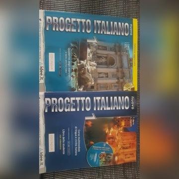 Książka i ćwiczenia do włoskiego
