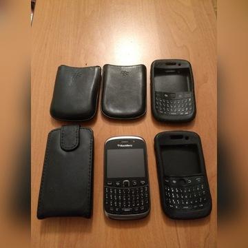 Smartfon BlackBerry Curve 9320 uszkodzony + etui