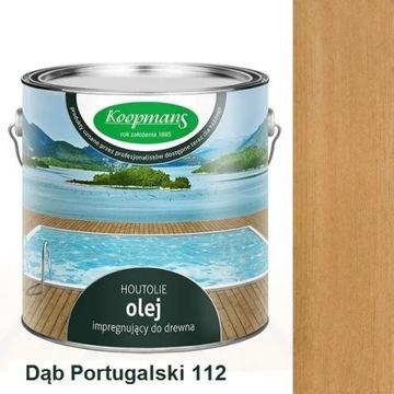 OLEJ TARASOWY 2,5 l Koopmans 112 Dąb portugalski