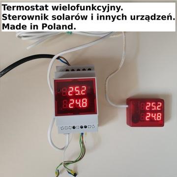 Termostat. Sterownik solarów, pomp c.o. i innych