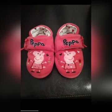 Kapcie świnka Peppa 20.5
