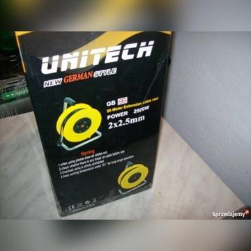 Przedłużacz UNITECH 50 metrów 2500watt