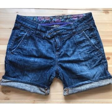 Szorty jeans jeansowe spodenki krótkie spodenki 38