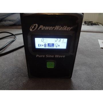 Zasilacz UPS POWER WALKER VI 800VA PURE SINE WAVE