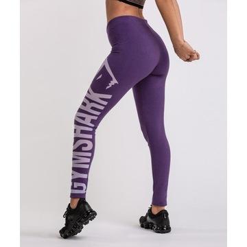 Legginsy Gymshark burnout rich purple/soft lilac L
