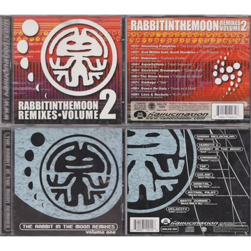 RABBIT IN THE MOON REMIXES VOLUME 1 VOLUME 2