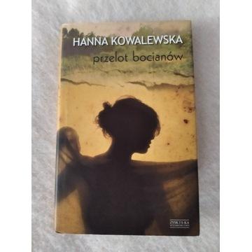 Hanna Kowalewska Przelot bocianów
